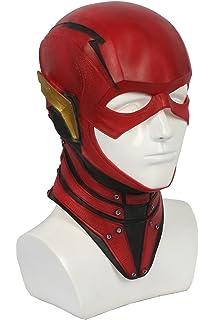 Xcoser Rouge Masque Deluxe Latex Casque Film Cosplay Costume Réplique Props  pour Homme Halloween Vêtements Déguisement 4c7671a2f79