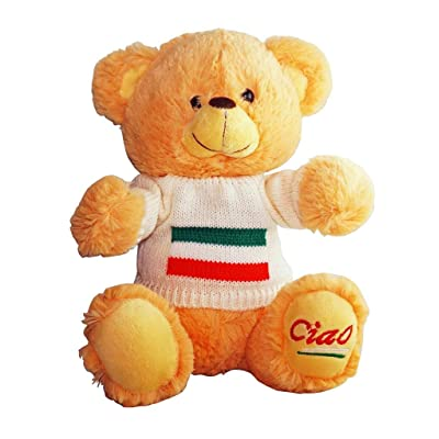 Italy Cute Ciao Bear - from Collection of Italian Pride Products at PSILoveItaly: Toys & Games