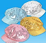 SEQUIN NEWSBOY HAT, Case of 36