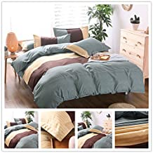 Lightweight Microfiber Duvet Cover Set King oversize (C)