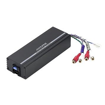 Alpine compacto amplificador de potencia Digital de 4 canales ktp-445uj