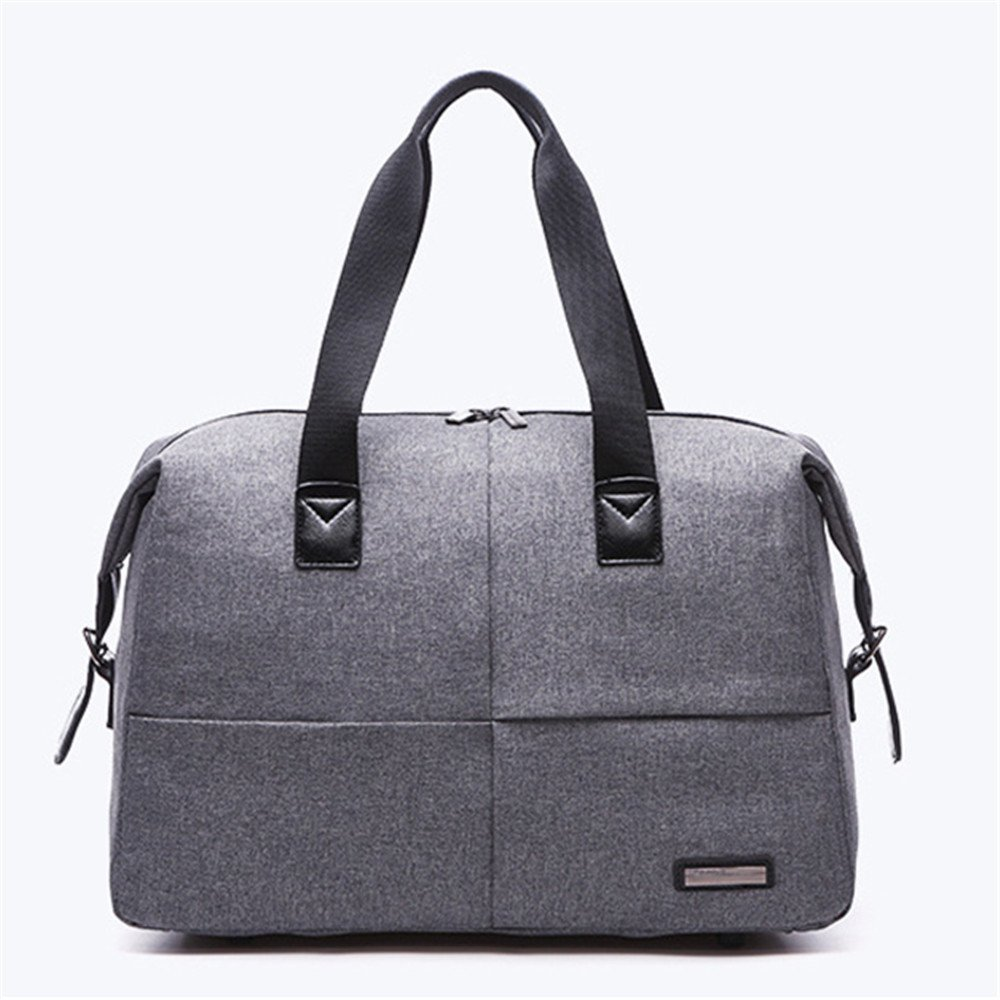 Crystalzhong Canvas Travel Bags Sports Bags Outdoor Fitness Bags Multifunctional Yoga Bags Travel Bags