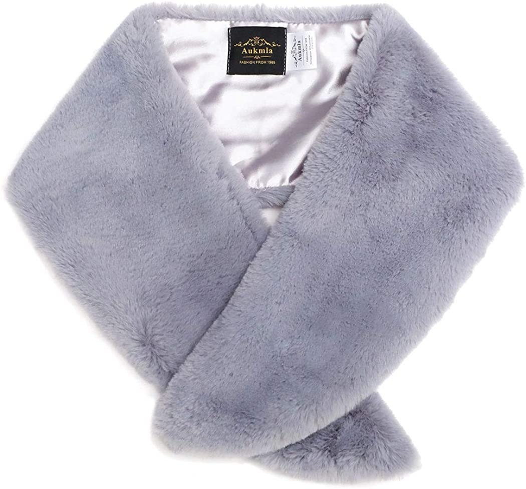 Barogirl Women's Faux Fur...