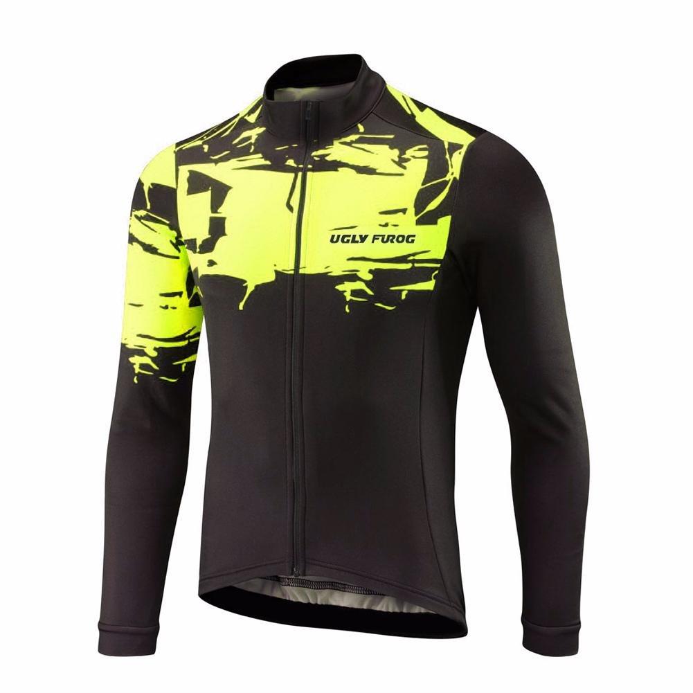 Uglyfrog # 01 2018新しいメンズサイクリング服春秋スタイル B077TB4YN2 XL カラー16 カラー16 XL