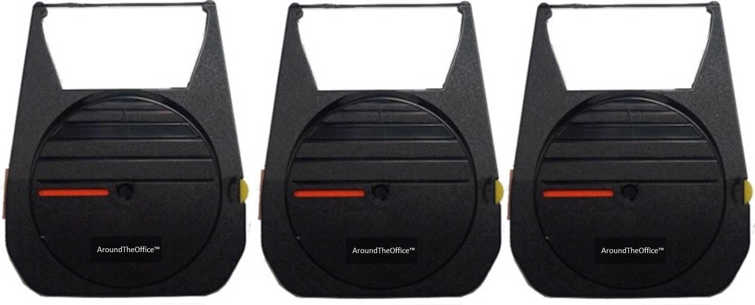 Nakajima AE-800 & 830 EC800 Ribbons Correctable Compatible - 3 Pack - AroundTheOffice™ Deluxe Quality Ribbons