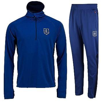 Chándal de Entrenamiento Equipo de Francia FFF Oficial Azul ...