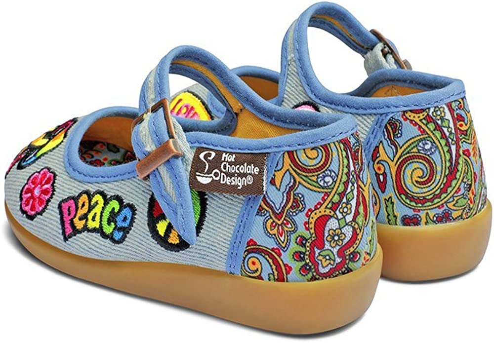 Hot Chocolate Design Mini Chocolaticas Hippie Bailarina Mary Jane para Ni/ñas