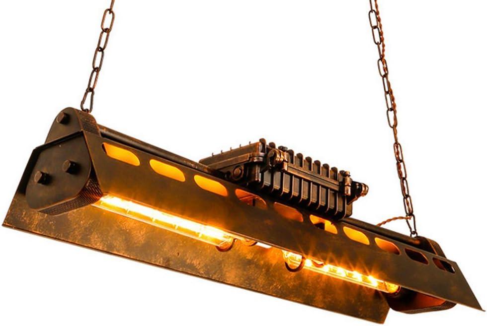 KJLARS Lámpara de Techo Vintage Lámparas de araña Luces E27 Bombilla, lámpara de estilo industrial Iluminación colgante Es Adecuado para Cocina, Cafetería, Bar, mesa de comedor