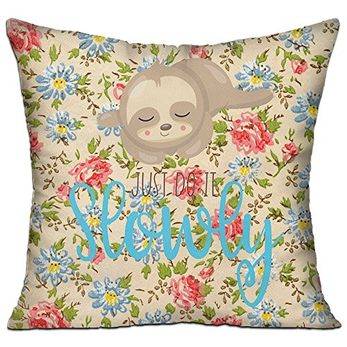 Mokjeiij Do It Slowly Thanksgiving Pillow Cover Sofa Bed Decoration Square Cushion - Kmart Wallpaper