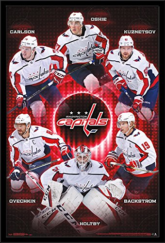 "Trends International Wall Poster Washington Capitals-Team, 24.25"" x 35.75"""