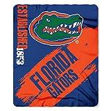 NCAA Florida Gators Painted Printed Fleece Throw, 50' x 60'