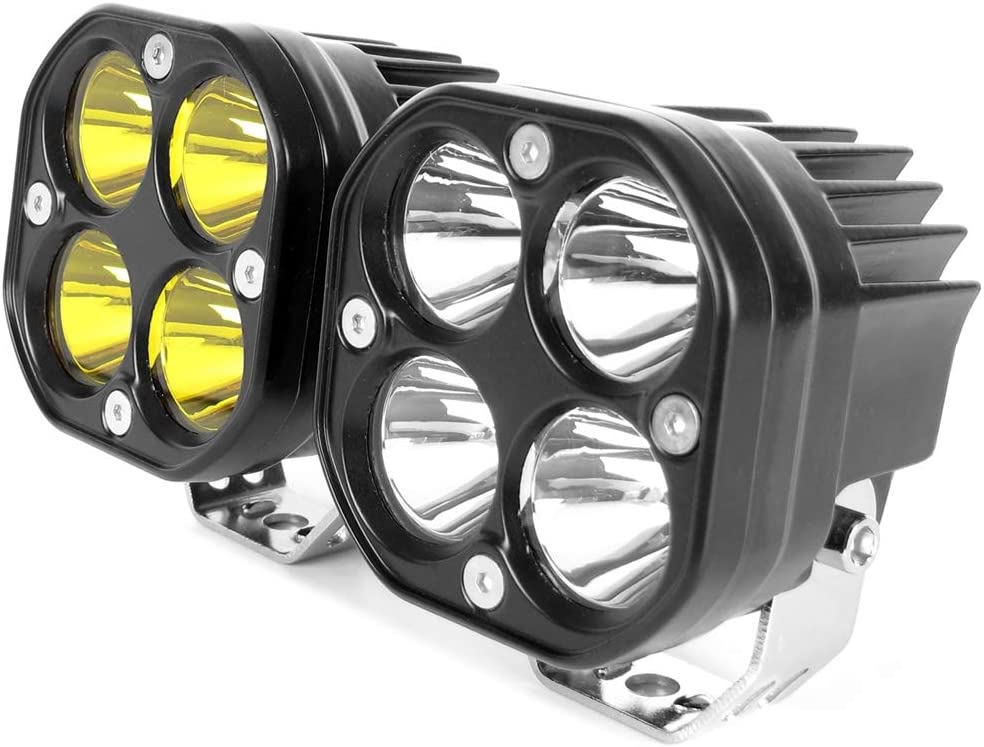 2-Pack 18W 12V 6 Inch LED Work Light HHF LED Bulbs Lamps Edition : SPot Beam Bar Spotlight Car Truck Trailer Offroad Lights 4x4 4WD SUV ATV Work Lamp 6000K