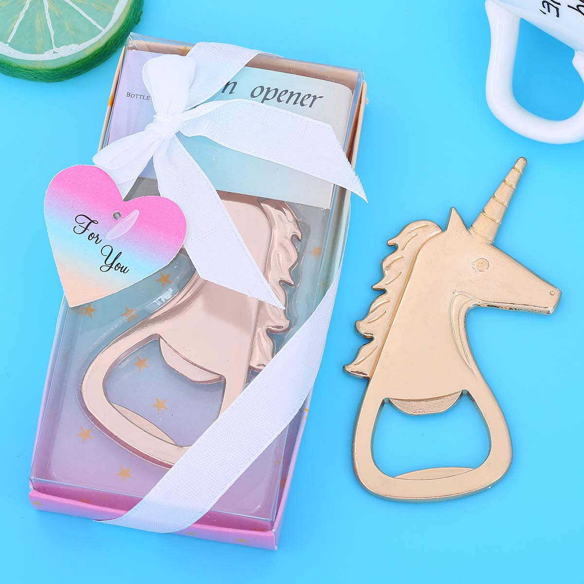 24 pcs Baby Shower Return Gifts for Guest Supplies Baby Shaped Bottle Opener Wedding Favor with Exquisite Packaging Party Souvenirs Gift Decorations by WeddParty Baby White 24PCS