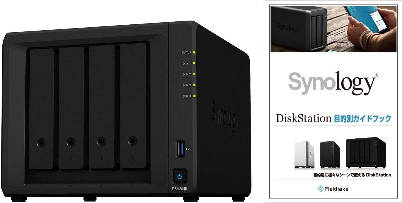 Synology DS920 Instalado con 4 Unidades Toshiba N300 de 4TB 16TB 4 Bay Desktop NAS Solution