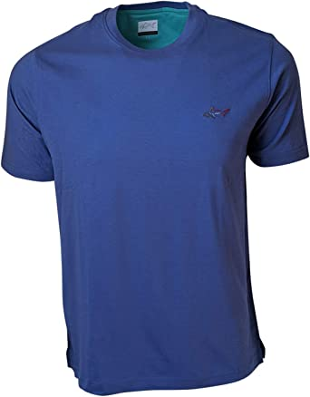 Greg Norman Men 100/% Cotton Casual T Shirt with Chest Pocket 13 Colors, U Pick