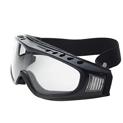 TININNA vetri protettivi Occhiali di sicurezza Sci Occhiali All'aperto Sport Antipolvere Occhiali da sole Bicicletta Moto Ciclismo Occhiali Giallo Ko5qU