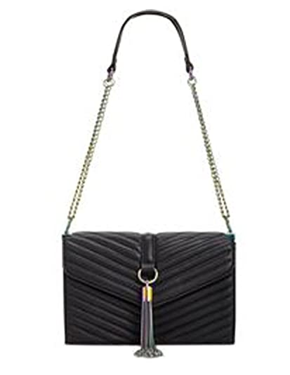eb4d15f0ba3b INC International Concepts Women s Yvvon Multicolor Tassel Crossbody Bag   Handbags  Amazon.com
