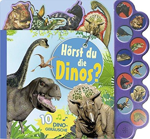 Soundbuch Hörst du die Dinos?: Mit 10 Dinogeräuschen