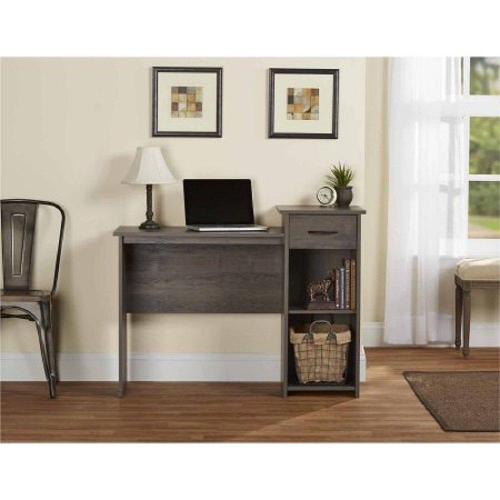 Mainstays Student Desk Black Whitevan