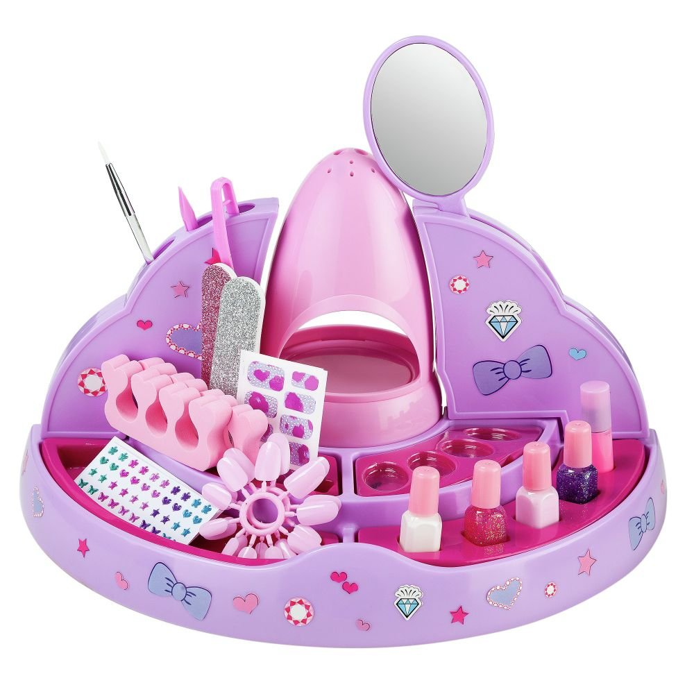 Chad Valley Chic Style Nail Salon Set: Amazon.co.uk: Toys & Games