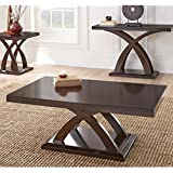 Steve Silver Company Jocelyn Cocktail Table, 48 W x 28 D x 18 H