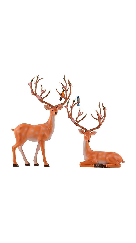 Creative Home Crafts - Adornos de flores y pájaros europeos de ...