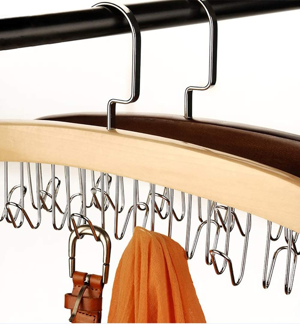 Waist Belt Space Saver Multifunction Non-slip Hook Storage Rack Hanger Holder