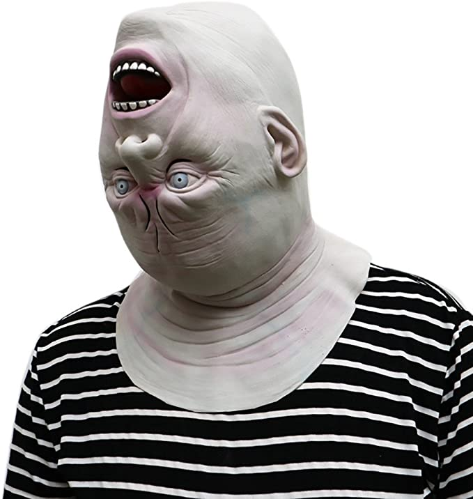 Kangrunmys Masque Halloween Adulte Sanglant Effrayant