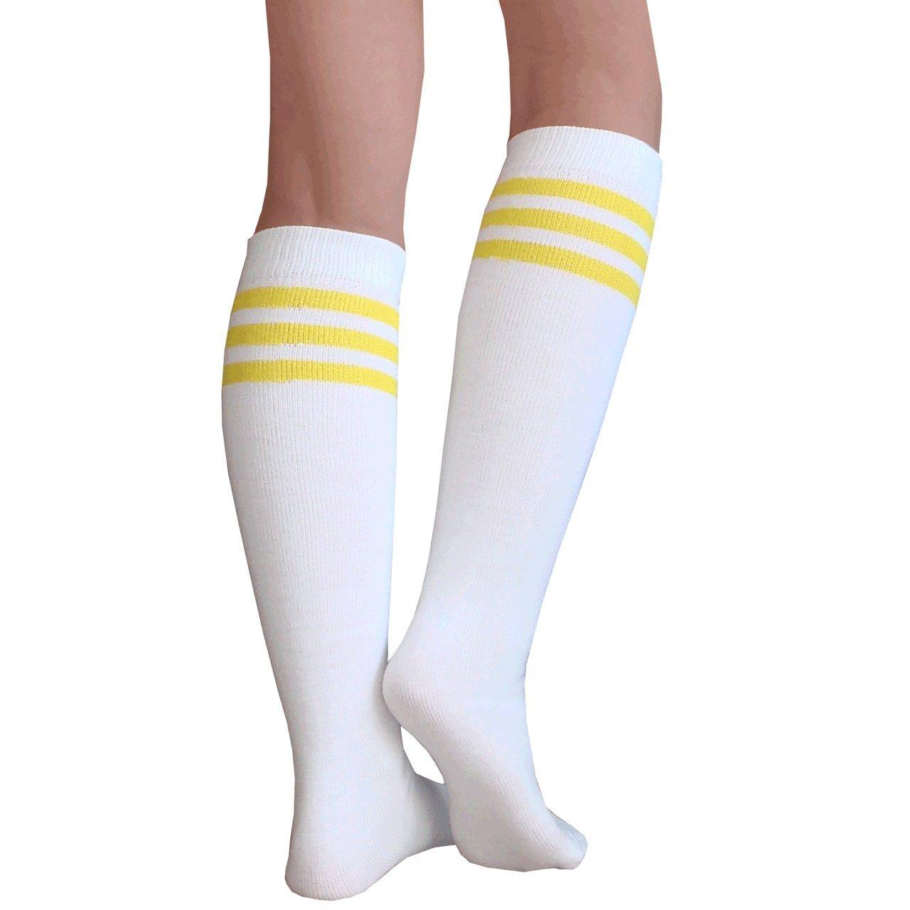 3afa8828e6022 Chrissy's Socks Women's Knee High Tube Socks at Amazon Women's Clothing  store: