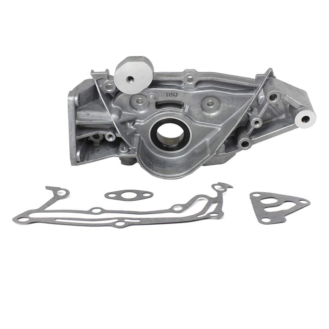 DNJ Oil Pump OP126A for 93-99 Mitsubishi Dodge 3.0L V6 DOHC 24v 6G72 Cu. 181