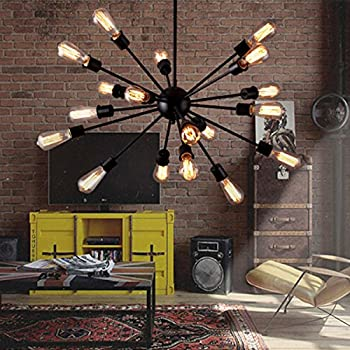 HA Industrial Light Decorative Chandelier Pendant Lighting Fixture