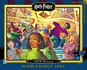 New York Puzzle Company - Harry Potter Dumbledore's Army - 1000 Piece Jigsaw Puzzle