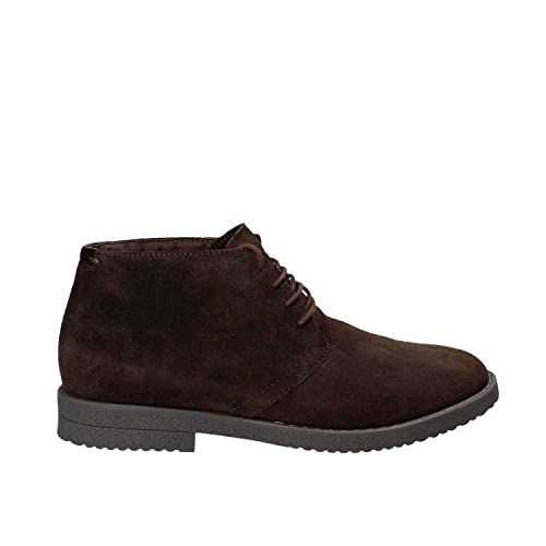 Geox Brandled Boots Brown  Amazon.co.uk  Shoes   Bags 8e91f994b40