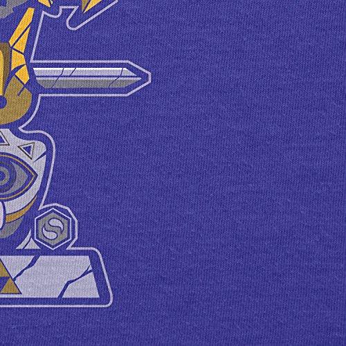 TEXLAB - Triforce Totem - Damen T-Shirt, Größe XL, marine