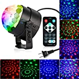 Disco Lights Sound Activated with Remote,Party Lights Disco Ball...
