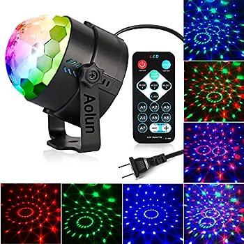 Party Lights W Disco Ball Lights Dj Light LED Stage Light - Strobe lights for bedroom