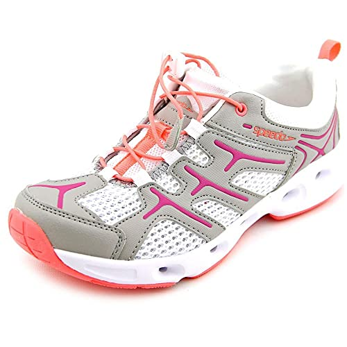 3af03767c05149 Speedo Ladies Hydro Comfort 3.0 Water Shoe Fuchsia/White 10: Amazon ...