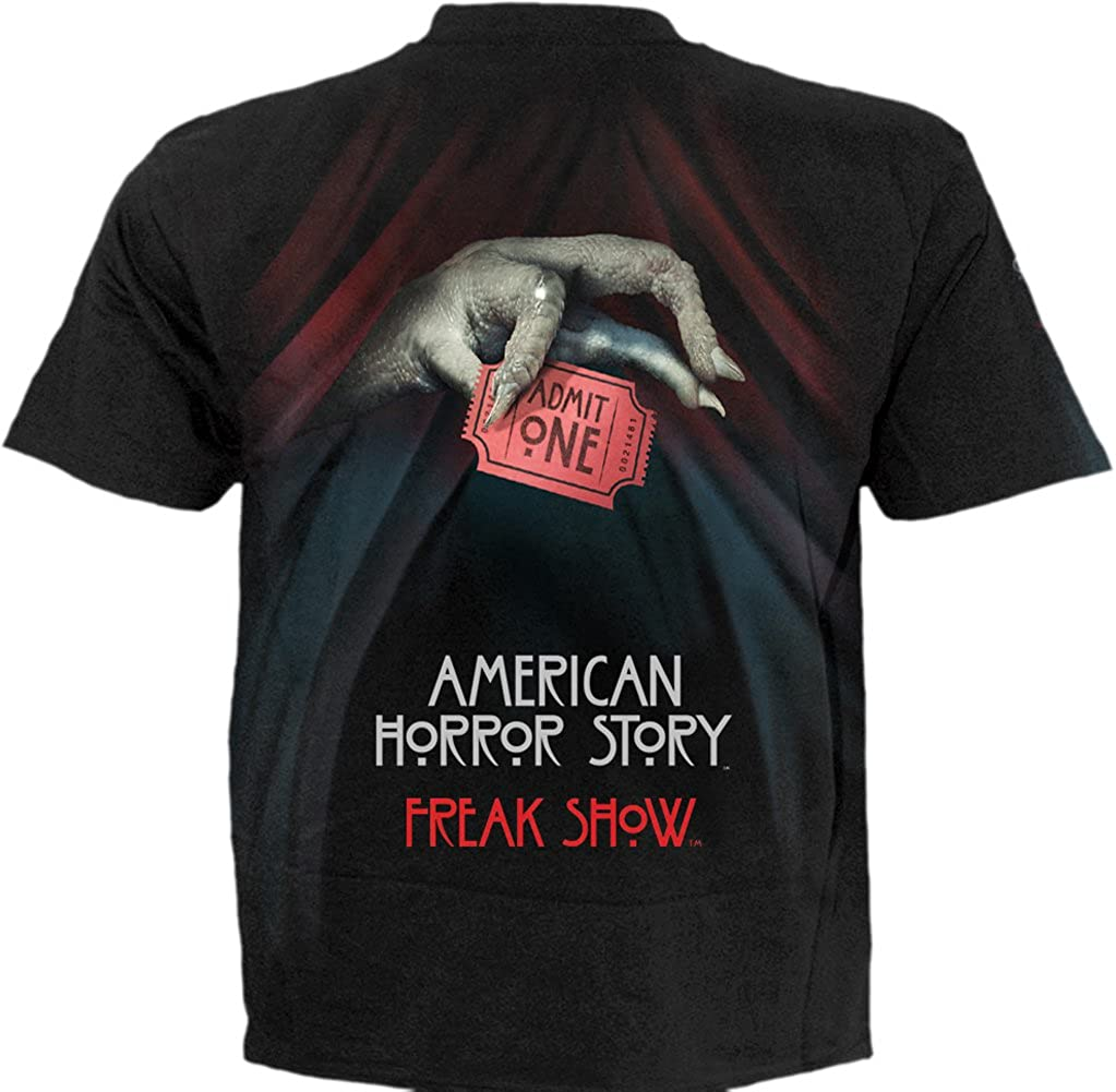 American Horror Story T-Shirt Black SNAKEMOUTH COVEN Spiral