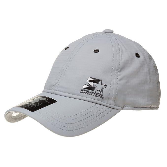 STARTER - Gorra de béisbol - para hombre gris SILVER WOLF Talla única   Amazon.es  Ropa y accesorios c6dfa0d8604
