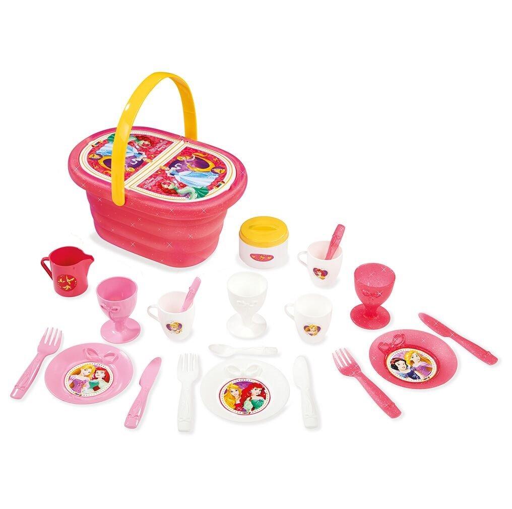 + 21/Zubeh/ör Picknickkorb Essecke mit Korb Smoby Toys- 310554- Disney Princess