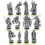 Noble Collection - Le Seigneur des Anneaux set de pièces de jeu d'échecs Le Retour