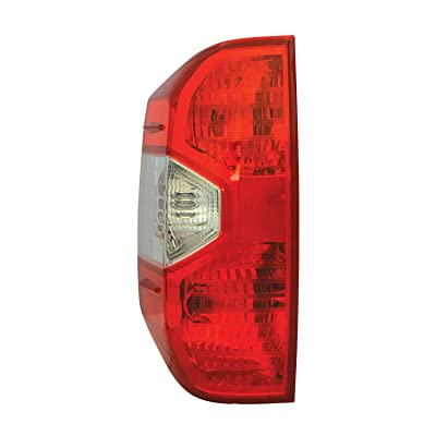 TYC 11-6642-00-9 Compatible with TOYOTA Tundra Left Replacement Tail Lamp: Automotive