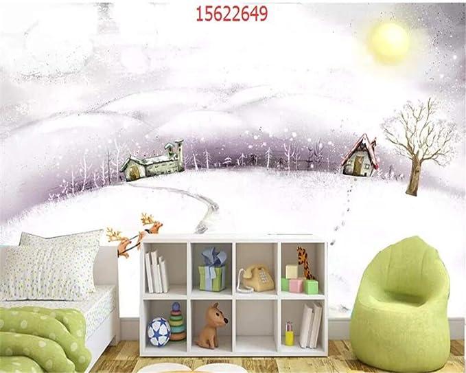 MuralXW Dibujos Animados Moda Moda pequeño Fresco Alce ...