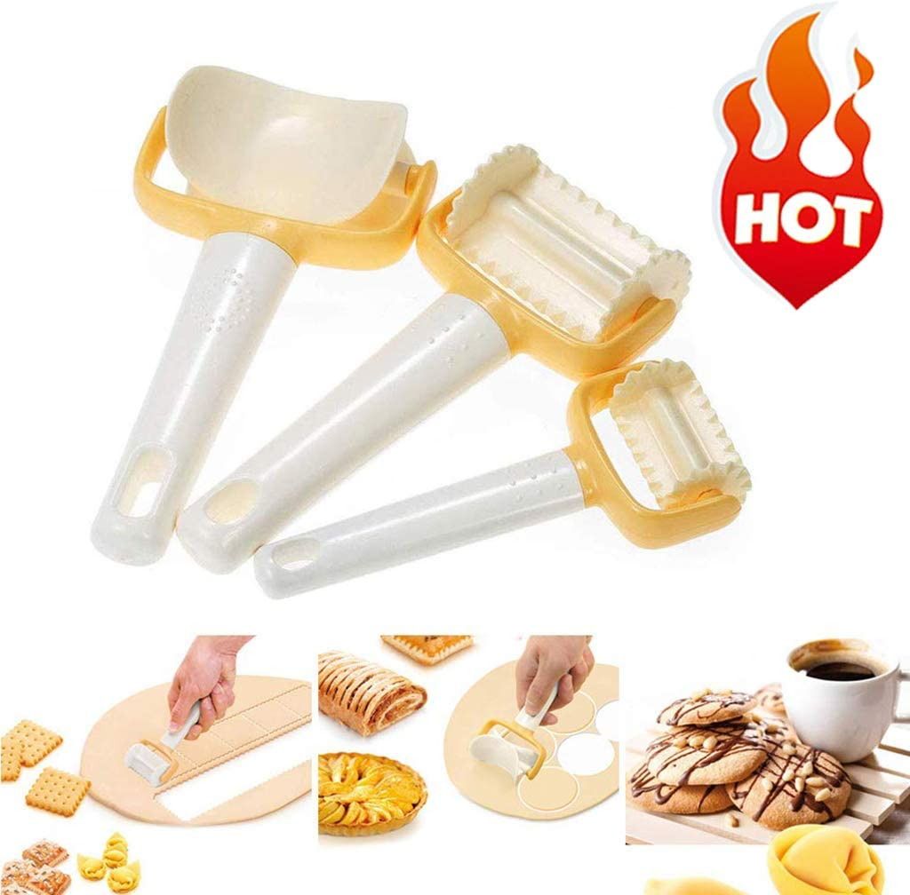 Rolling Tool Cookies Roller Cutter Kitchen Cookie Maker DIY Baking Tools Useful
