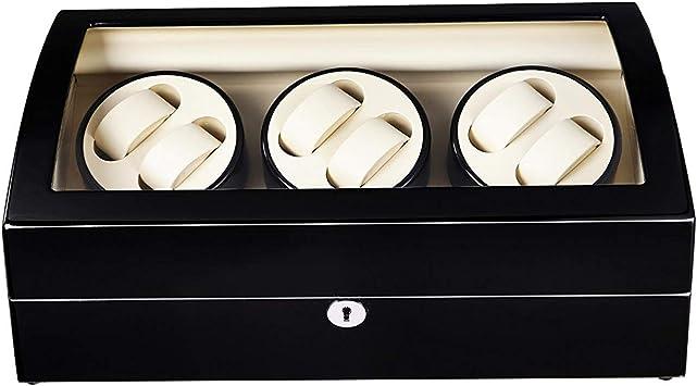 Audivik Caja Relojes Automaticos Pilas,Automatic Watch Winder 6 ...
