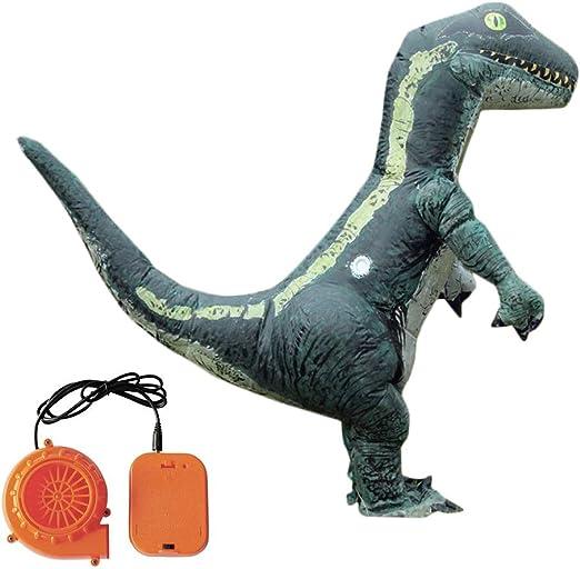 Lembeauty Disfraz Hinchable de Dinosaurio para Disfraz de ...