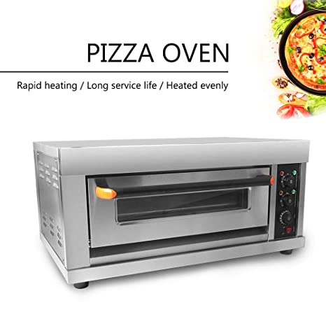 Horno de pizza de 3200 W, para tartas, pollo tostado, de acero ...