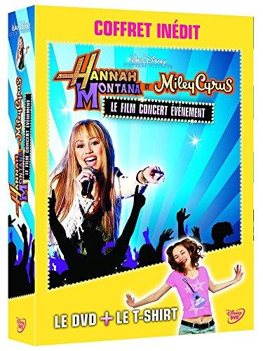 Hannah Montana et Miley Cyrus - Le film concert événement [Coffret DVD + T-shirt]