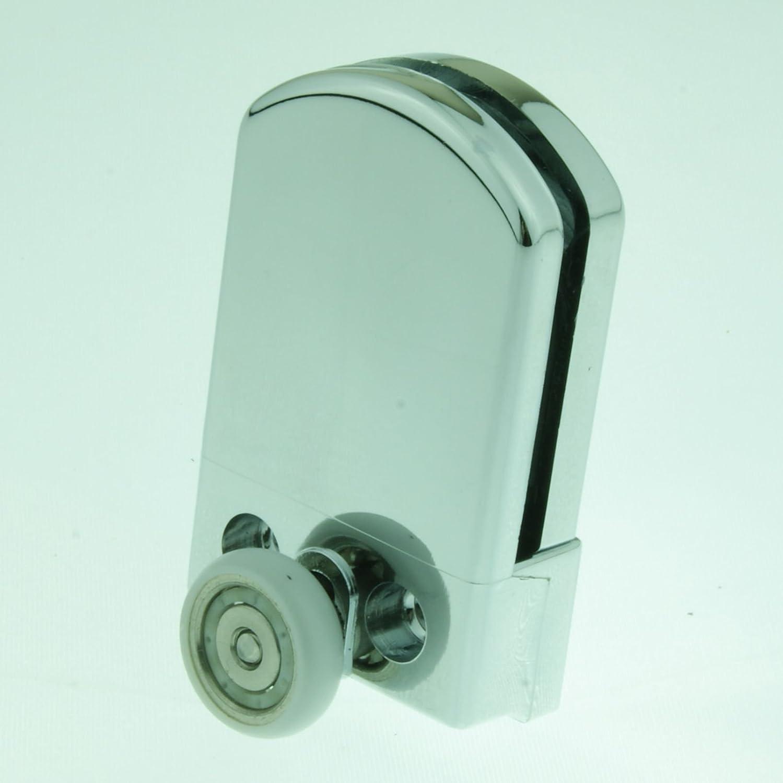 4 x Shower Door ROLLERS /Runners/Wheels 19mm Wheel Diameter L017 ...