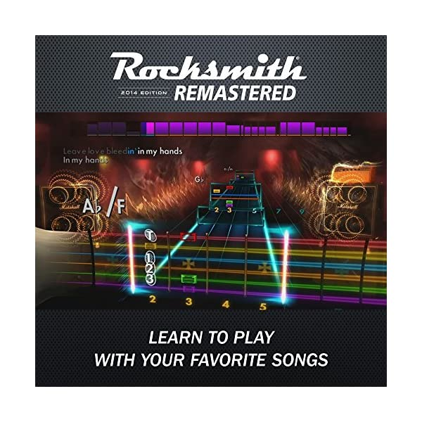 Rocksmith 2014 Edition Remastered - Xbox One Standard Edition 5
